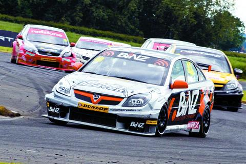 Lea Wood in action at Croft. Picture by CHRIS WYNNE