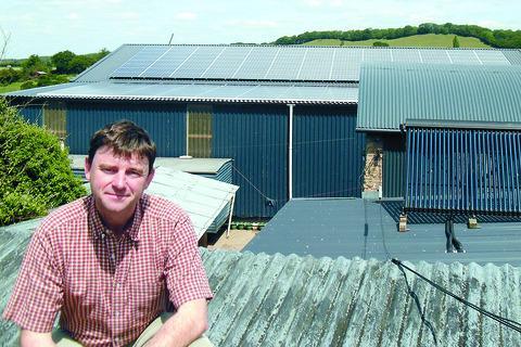 Gareth Williams of Caplor Farm