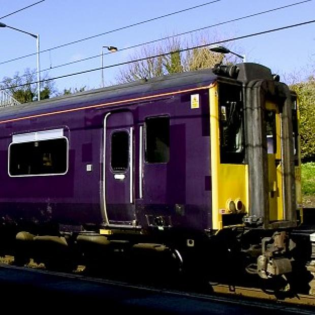 A driver died after being hit by a First Capital Connect train in Norfolk