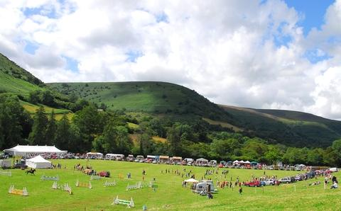 Llanthony Show in the Llanthony Valley, just over the Herefordshire border