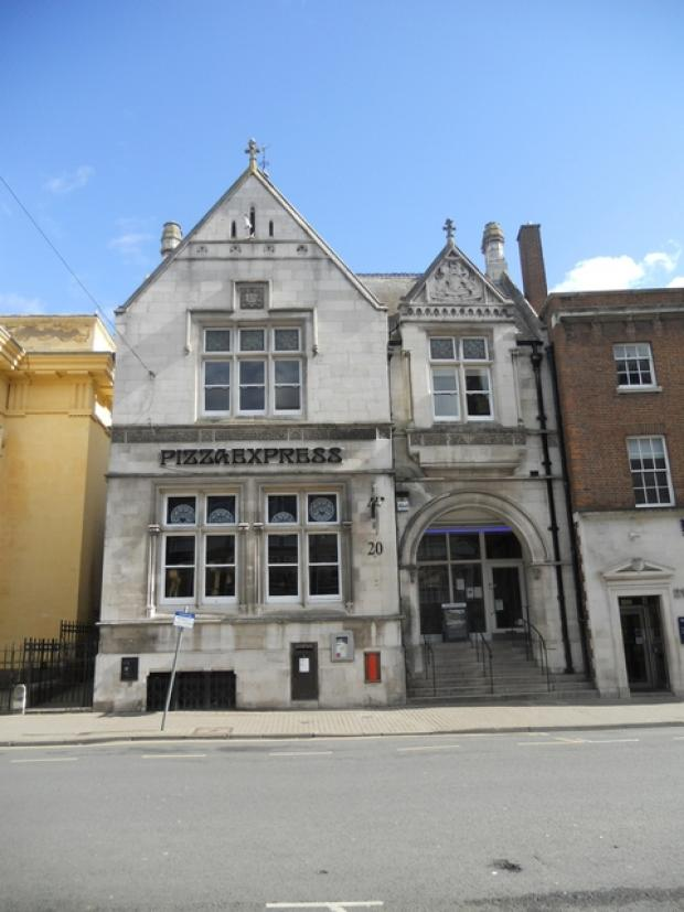 This listed building in Broad Street is for sale