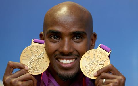 Mo Farrah runs into the history books with super double gold