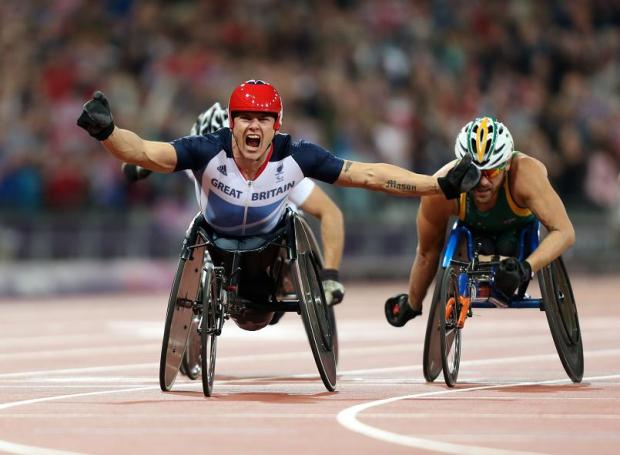 Hereford Times: Wheelchair racer David Weir