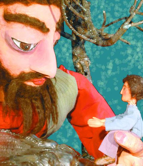 The Selfish Giant by Sea Legs Puppet Theatre Company at Hereford's Courtyard