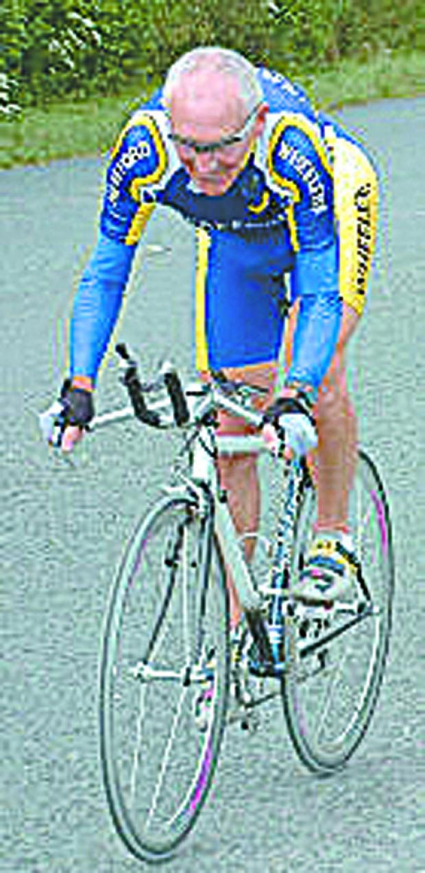 Gordon Butler, a veteran cyclist, died on September 5
