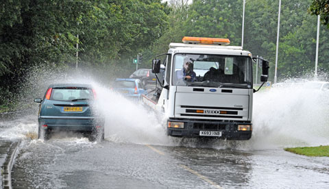 Latest: travel still disrupted by heavy rain