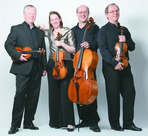 The Coull Quartet sparkle at Leominster's Lion Ballroom