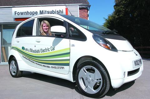 Fownhope Mitsubishi director Samantha Peachey hopes the news will make it easier to sell electric cars