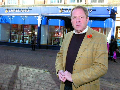 Mark Ellis, co-founder of M&M Direct, is now a property developer