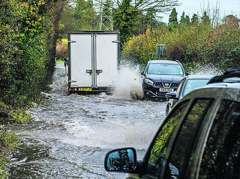 Latest traffic and travel: Roads closed due to flooding