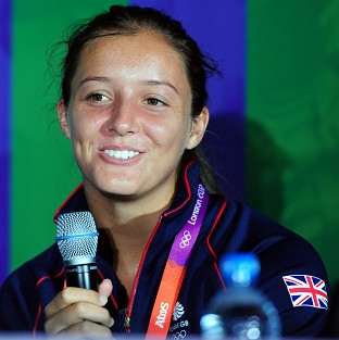Laura Robson described winning the award as a 'huge honour'