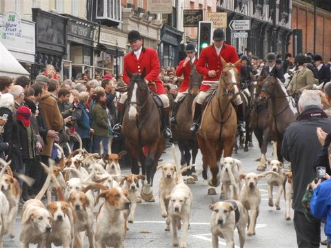 Good turnout for Herefordshire's Boxing Day hunts