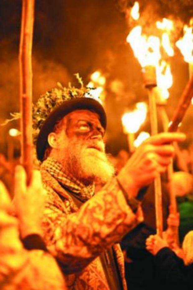 A 2012 wassail. Picture by Richard Shakespeare.