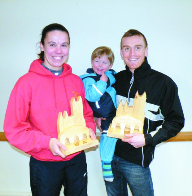 Hereford Times: Myshola Kirkham and Luke Moseley were the individual winners of the Wye Valley Runners 10km Road Race.
