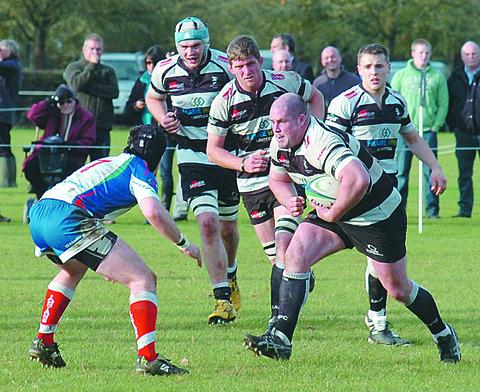 Anthony Marfell scored an early try for Luctonians in their win over Hull.
