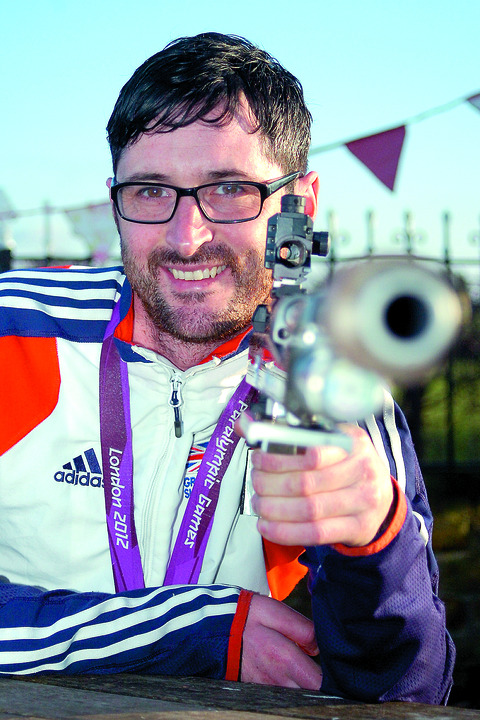 James Bevis is targeting success at the Rio Paralympics in 2016.