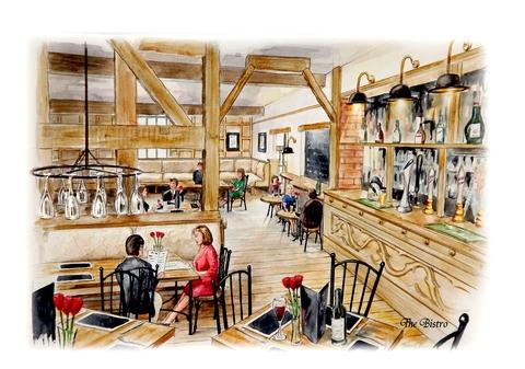 Hereford Times: An artist's impression of how the new-look Salwey will look.