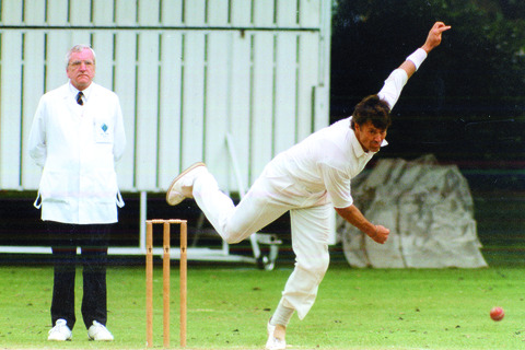 Herefordshire's ex-England seamer Neal Radford played a big part in hastening the end of Kevin Sharp's playing career with Shropshire.