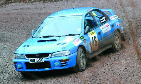 Hereford's Mike Nobles and Claire Williams were 27th overall in their Subaru Imprezza.