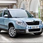 A new Skoda SUV will be larger than the current, popular Yeti, pictured.