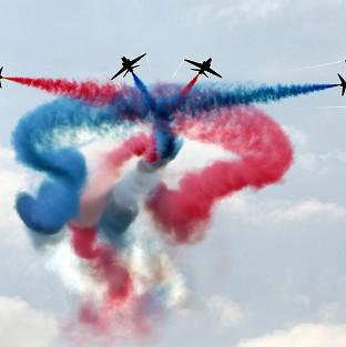 Hereford Times: The Red Arrows lost two pilots in accidents in 2011