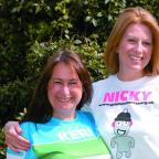 Keri Goddard (left) and Nicky Ankers.