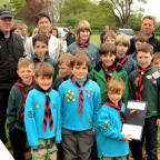 Romans' take scouts prize
