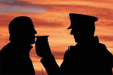 Police issue reminder about dangers of drink-driving this summer