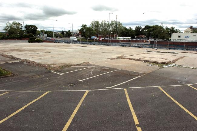 Car park proposal for former Rockfield DIY site in Hereford