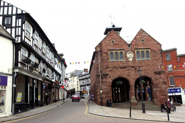 Hereford Times: Ross-on-Wye saw itself at the centre of a debate following an article in The Guardian.