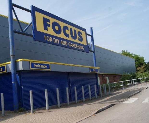 Hereford Times: The former Focus DIY store in Ross-on-Wye