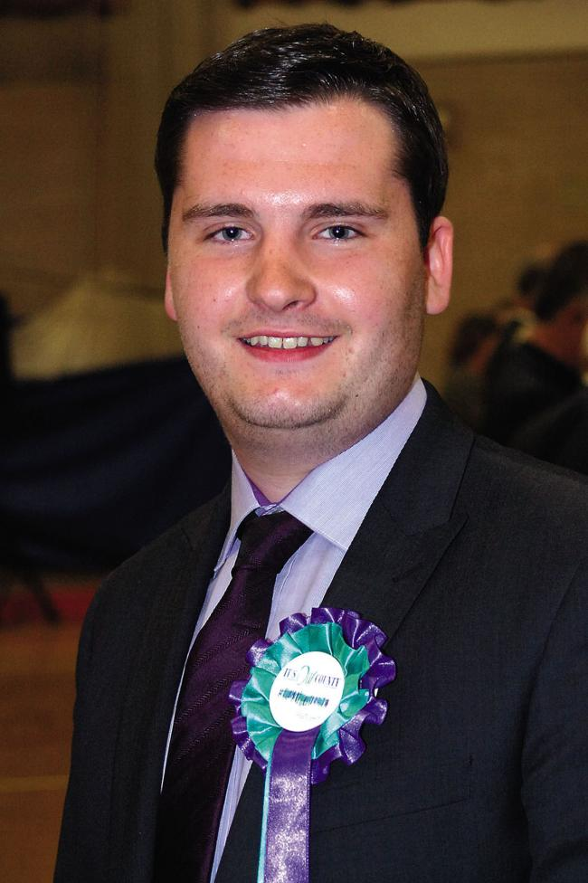 Alex Hempton-Smith pictured after being elected in 2011.