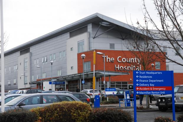 Hereford Times: The trust wants parking charge signs at the hospital to be easier to read.