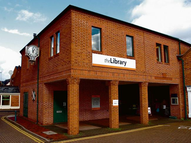 Leominster library - amongst those listed to be