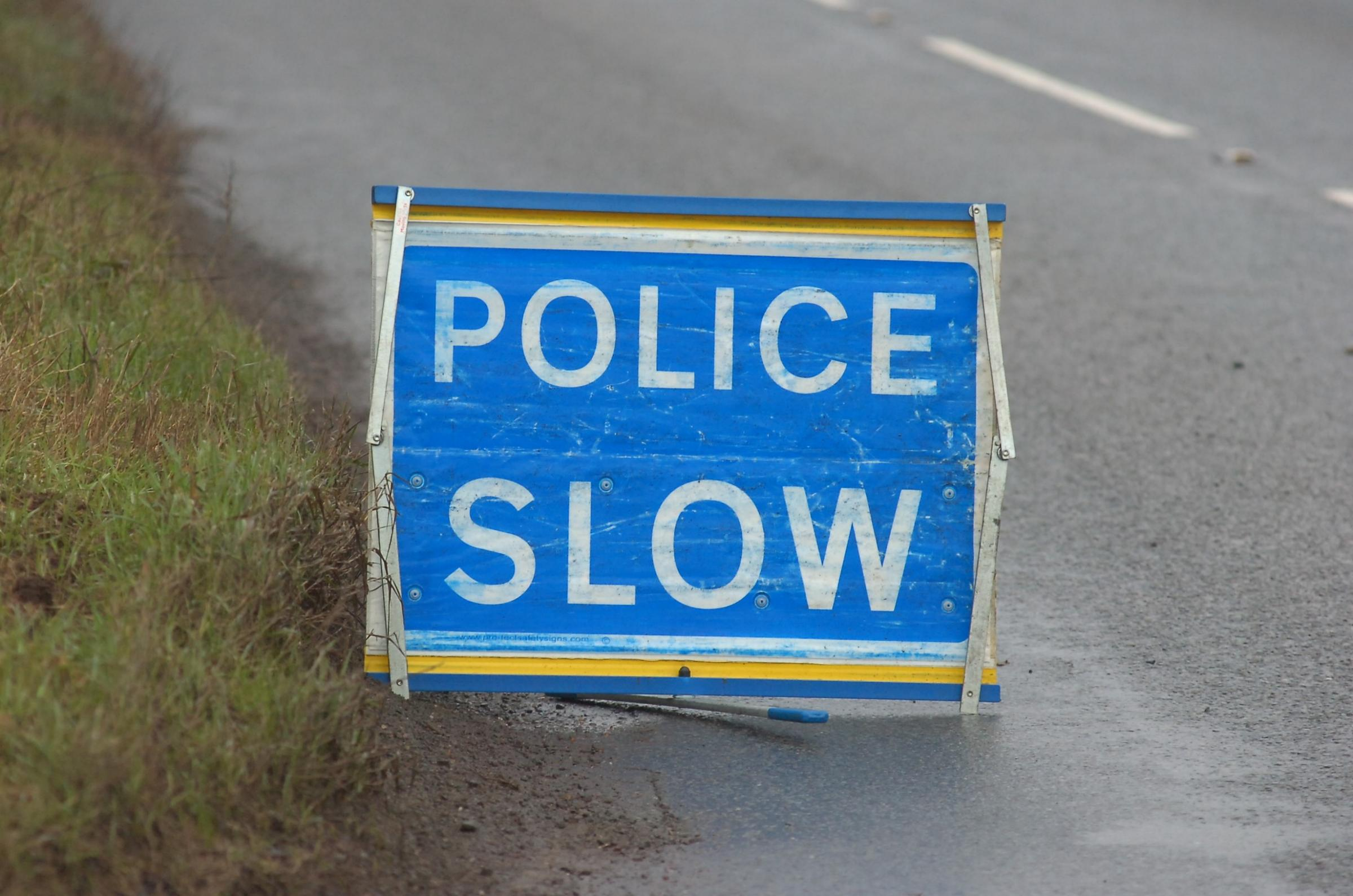 Police closed the A417 near Bodenham for around an hour so that a lorry could be removed.