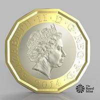 Hereford Times: The new one pound coin announced by the Government will be the most secure coin in circulation in the world (HM Treasury/PA)