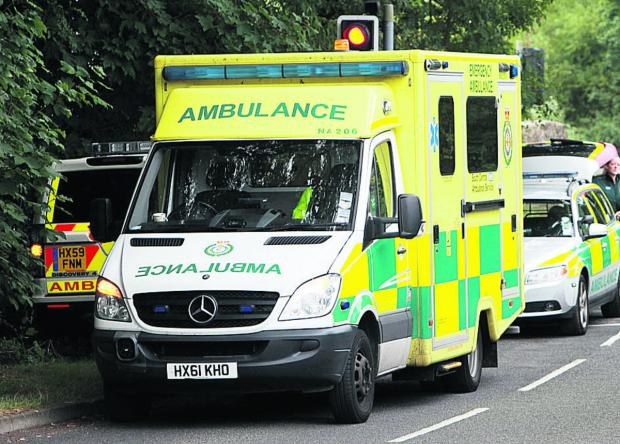 Hereford Times: Woman cut out of vehicle following collision