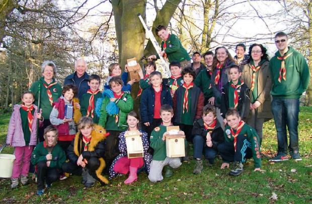 Hereford Times: Presteigne Cub Scouts and