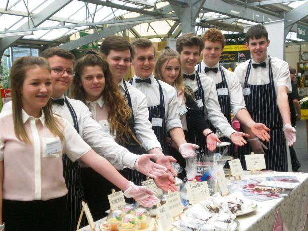 Hereford Times: Students from St Mary's R C High School are taking part in the National Young Enterprise competition.
