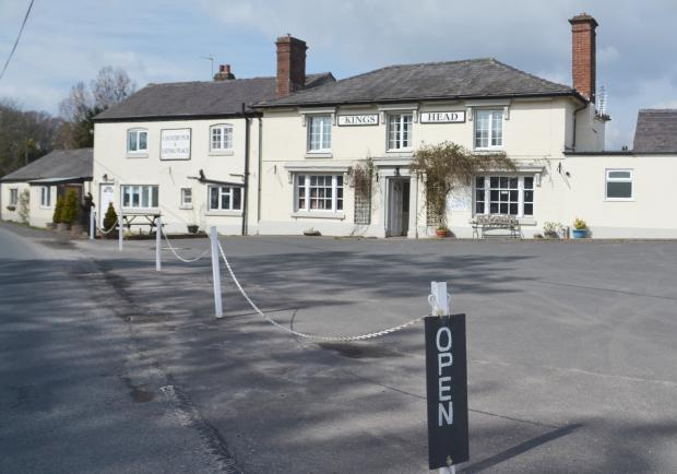 Hereford Times: The King's Head at Docklow is up for sale.