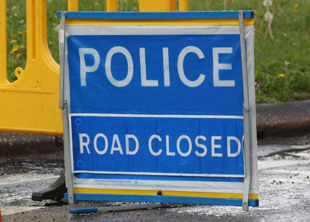 Hereford Times: Bye Street in Ledbury is closed in both directions