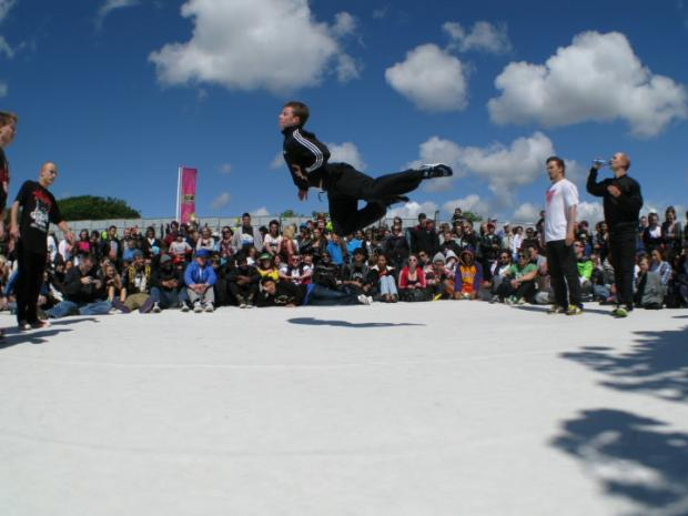 Hereford Times: You can check out the UK's best breakdancers.