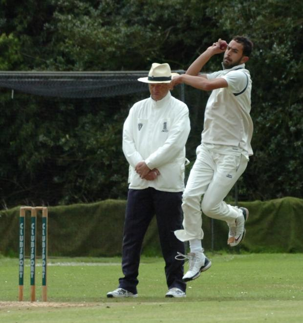 Hereford Times: Ahmed Jamal won the Wasim Akram 'King of Speed' challenge. (6091067)Picture by James Maggs.