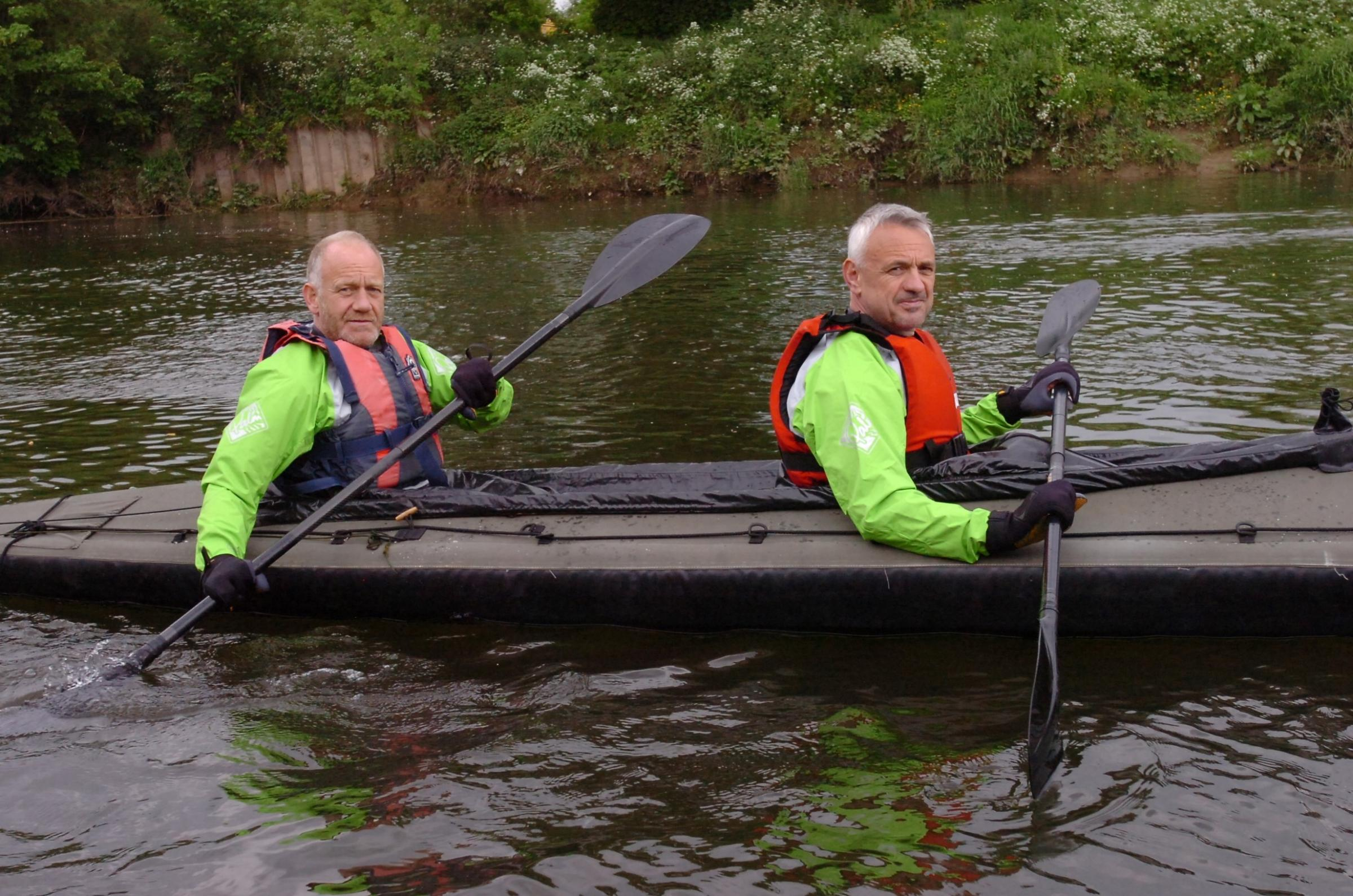 Hereford canoeists to take on 200km D-Day crossing