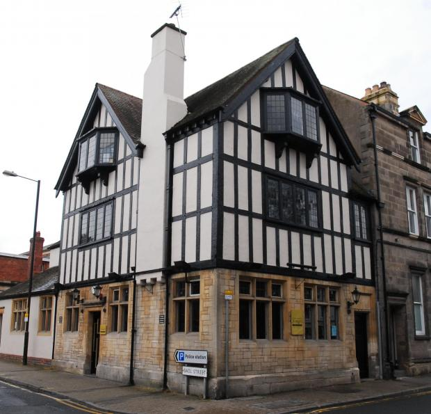 The Shake and Stir bar in Gaol Street, Hereford.