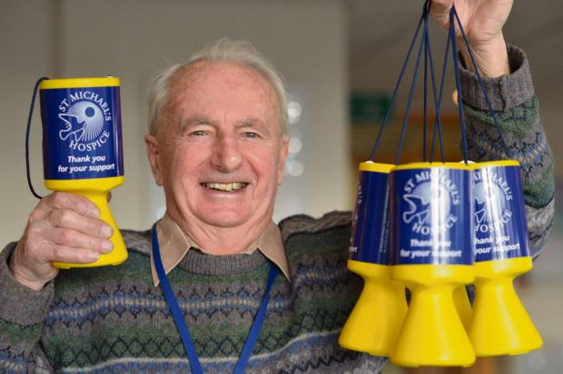 Randy Langford has collected £240,000 for St Michael's Hospice.