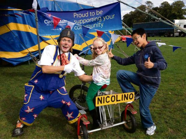 Herefordshire children will be able to enjoy circus fun when Circus Starr arrives in the county next week.