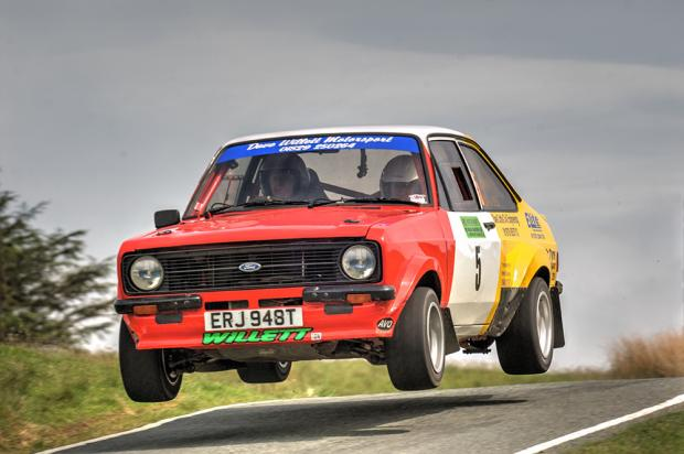 Dave Willett and John Davies won the Epynt Stages. Picture by  Stuart Woodier - Rally Action Photography