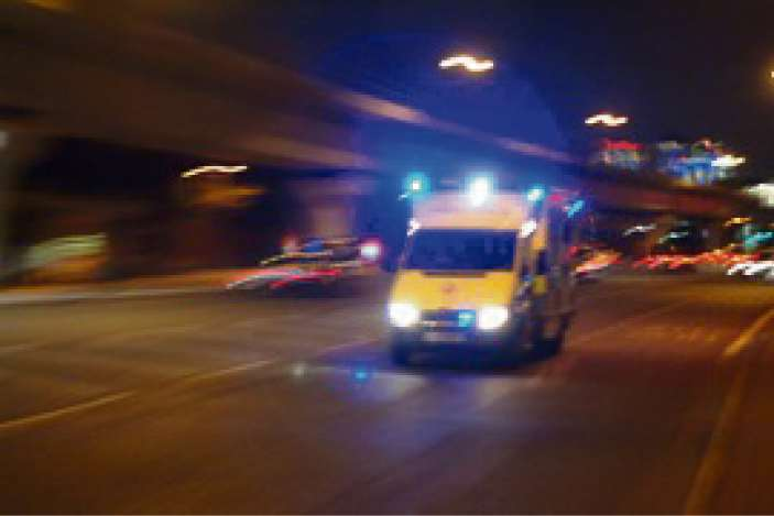 Huge demand on 999 ambulance crews in the county
