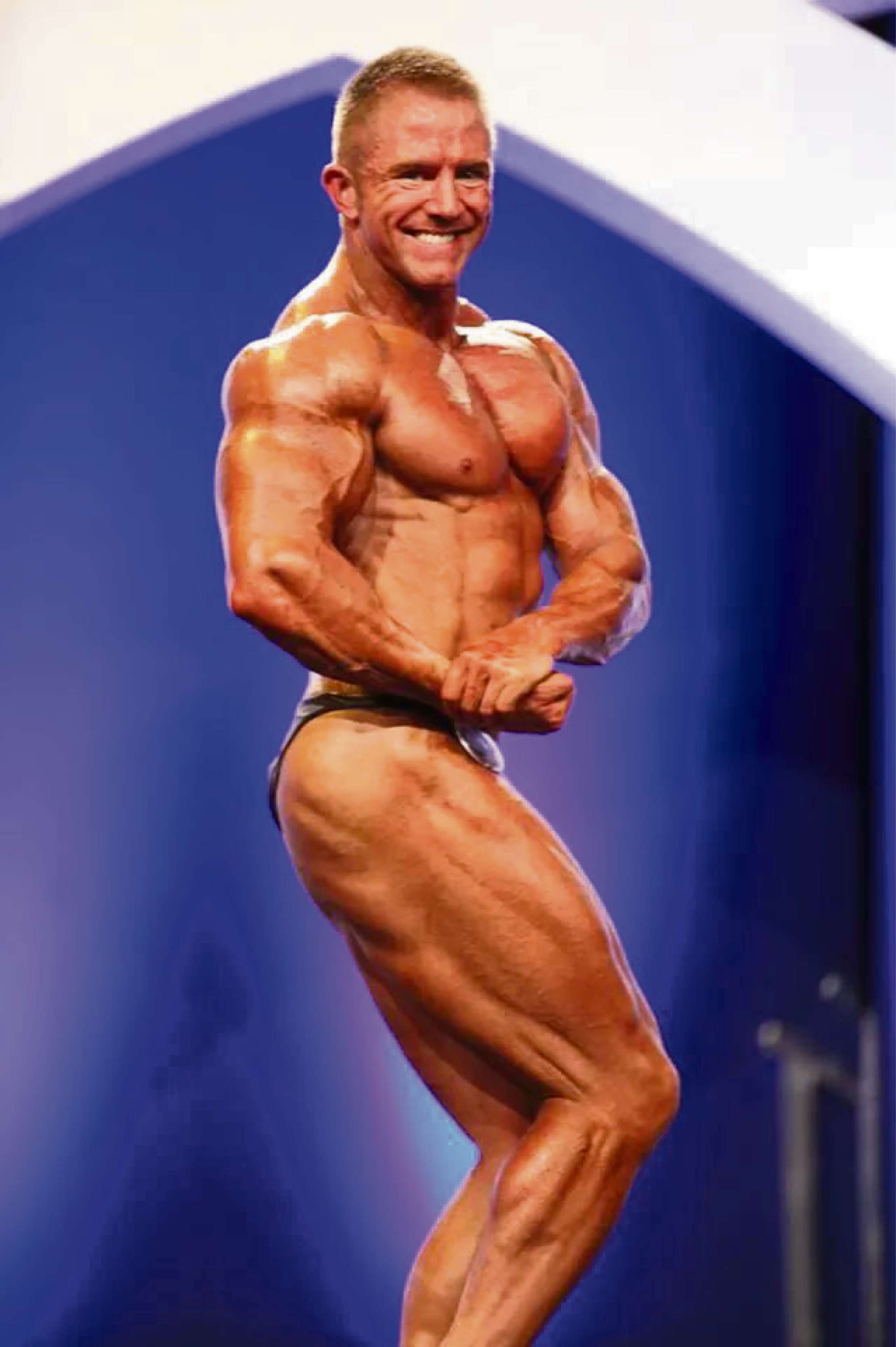 Triple champion bodybuilder Bruce coaches next generation